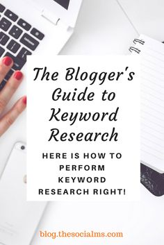 Keyword research is one of the basic content writing steps, it is the foundation of good content creation: Here is how to perform keyword research right!