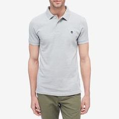 Timberland Millers River - Men's Regular Fit Polo Timberland Outfits, Slim Fit Polo, Polo Tees, Chilly Weather, Slim Man, Polo Ralph Lauren, River, Fitness, Mens Tops