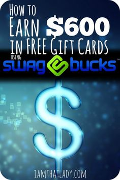 Are you wondering how to make money from home to help cover expenses?  There are so many ways to do this, but I think that you can make the most money out of using Swagbucks. Here is how you can earn $600 in gift cards by using Swaybacks for simple tasks!