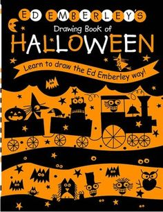 PPBF: Ed Emberley's Halloween Drawing Book   julie rowan-zoch
