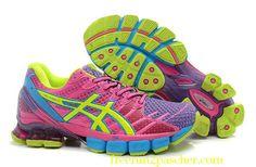 Asics Gel-Kinsei 6 Femmes Rose Amorti Running Sport Chaussures Baskets Sneakers