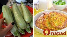 Len cuketa, starší chlebík, cesnak a 2 vajcia – to je všetko:  Dajte tomu 15 minút a máte nesmierne chutný obed! Pickles, Cucumber, Zucchini, Foodies, Party, Pizza, Vegetables, Cooking, Recipes