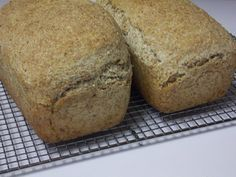 Process for making sprouted wheat bread with no flour. This method produces a light loaf that doesn't look or taste like a brick.
