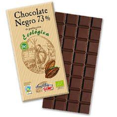 Chocolate negro 73% Ecológico 100gr