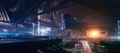 Topnotch Futuristic Cities Illustrations