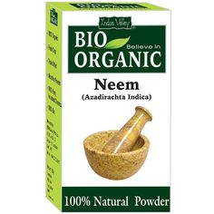 Buy Neem Powder which is a anti-biotics herb.Neem is a tree. Neem's  bark, leaves, and seeds are used to make medicine. Less frequently, the root, flower, and fruit are also used.