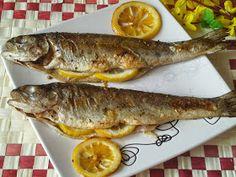 Dziś piątek więc proponuję pyszną pieczoną rybkę. Nie jestem wielką fanką ryb, jednak pstrągi w tej wersji bardzo mi zasmakowały. Są szybkie...