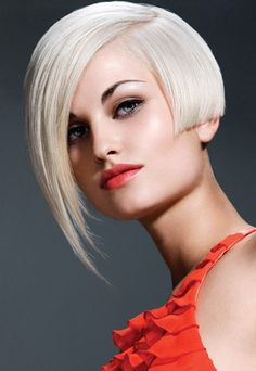 Short Blonde Hair With Long Bangs Long Bob Hairstyles, Short Hairstyles For Women, Bob Haircuts, Hairstyle Short, Blonde Hairstyles, Haircut Bob, Haircut Style, Style Hairstyle, Trendy Hairstyles