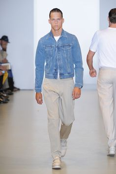 Calvin Klein Men's RTW Spring 2013 - Runway