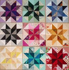 star and pinwheel quilt block | quilt blocks