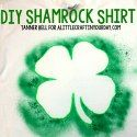 DIY Shamrock Shirt - A Little Craft In Your DayA Little Craft In Your Day