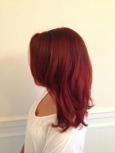 My fierce red hair