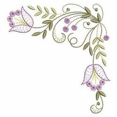 Embroidery Flowers Pattern, Hand Embroidery Patterns, Embroidery Applique, Flower Patterns, Machine Embroidery Designs, Embroidery Stitches, Quilling Patterns, Paint Designs, Floral Flowers