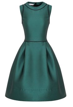 Suzannah New in for AW13 this fabulous retro style dress is packed with charm and full of 1950s spirit. Flattering silhouette with a close fitting bodice which is waisted and then kicks out into a fun full skirt part.