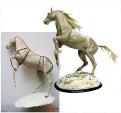 Sculpting the Horse Horse Sculpture, Sculpture Clay, Animal Sculptures, Horse Drawings, Animal Drawings, Sculpting Tutorials, Horse Anatomy, Draw On Photos, Paperclay