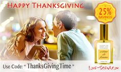 #LoveScent #Pheromone 25% Off Sitewide #couponcode ThanksGivingTime http://bit.ly/1rfJBCS  #Thanksgiving #Perfumes