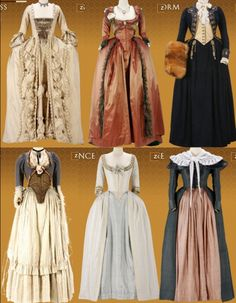 Costumes by Michael O'Connor (The Duchess)