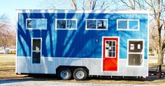 Mini Mansions Tiny Home Builders honor their name creating the beautiful Relax Shack. A surprisingly ample 192-square-foot tiny home that proves to be as functional as it is gorgeous.