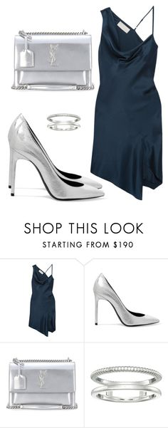 """""""Untitled #4953"""" by beatrizvilar on Polyvore featuring Michelle Mason, Yves Saint Laurent and Shinola"""