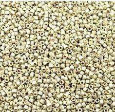Miyuki Delica Beads DB1831F Delica Duracoat Galvanized Matte