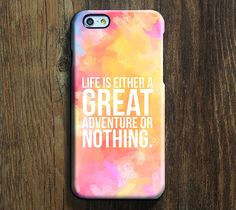 Great Or Nothing Quote iPhone 6 Plus/6/5S/5C/5/4S/4 Protective Case – Acyc