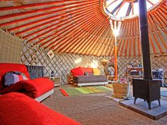 How Would You Decorate a Yurt?