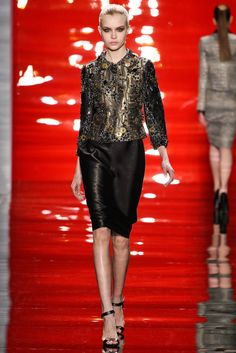 Reem Acra Fall 2012 Ready-to-Wear