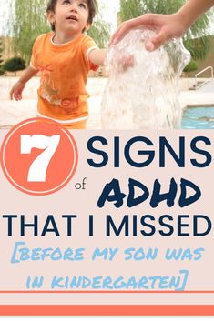 The ADHD Symptoms I missed in my son, prior to starting school. The ADHD symptoms I missed with my son before school started. Adhd Symptoms In Children, Adhd In Children, Young Children, Adhd Signs, Adhd Help, Adhd Diet, Attention Deficit Disorder, Adhd Strategies, Kids Health
