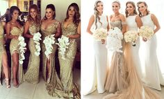 Bridesmaid Dresses That Turn Heads