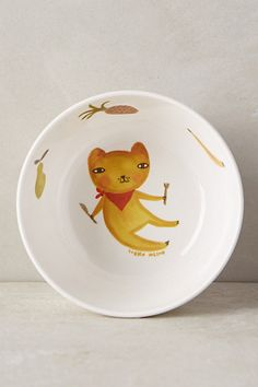 Hungry Critter Bowl #anthropologie