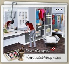 1000 images about the sims 3 furniture master bedrooms for Passionate bedroom designs