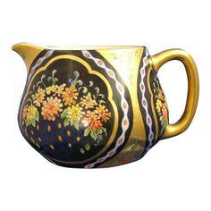 """Haviland Limoges Arts & Crafts Floral Motif Pitcher (Signed """"Orpha McClure""""/Dated 1929)"""