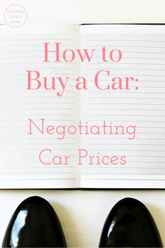 Negotiating car prices can be intimidating, but it doesn't have to be. Learn how to negotiate car prices and buy a car for a reasonable price that's within your budget especially if you're paying cash. Click the link to read the post.