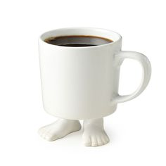 FOOTED MUG | cup with feet, footed | UncommonGoods