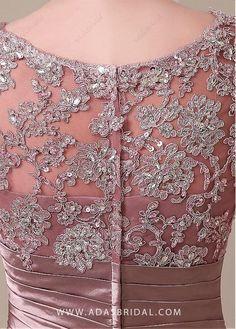 Buy discount Elegant Stretch Satin Scoop Neckline Lace Mermaid Mother of The Bride Dresses at Dressilyme.com