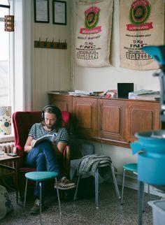 Kaffismidja Islands coffee house - Reykjavik