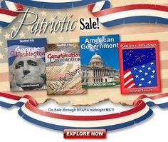 $5 Patriotic Sale at Unit Studies by Amanda Bennett