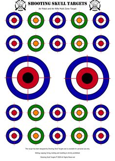 Pistol Shooting Tips, Shooting Targets, Pegs And Jokers, Pistol Targets, Range Targets, Paper Targets, Nerf Party, Brain Art, Target Practice