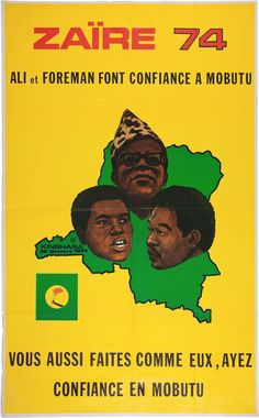 Zaire, 1974 Ali Vs Foreman