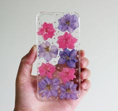 iphone case Pressed Flower