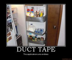 demotivational poster DUCT TAPE