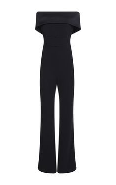 Off The Shoulder Jumpsuit by GALVAN for Preorder on Moda Operandi