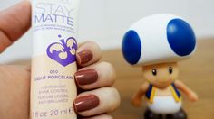 Testei: Base Stay Matte da Rimmel