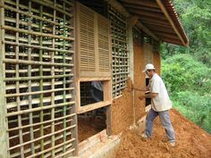 Mud and bamboo walls