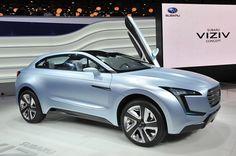 Subaru Viziv Concept, futuristic crossover, Future SUV, Vision for Innovation, Sportscar, Future Car