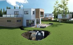 miysis_3d_Eloy_Integration_final_compressed Water Storage, Group Of Companies, This Is Us, Patio, 3d, Outdoor Decor, Terrace