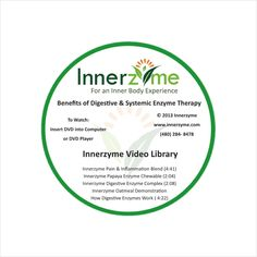 Coming Soon! We will be releasing our New Innerzyme Video Library on DVD this month! Get the knowledge you need to help move your life in a healthy direction! Benefits of Digestive and Systemic Enzymes! http://www.innerzyme.com/ #enzymes #health #dvd #innerzyme