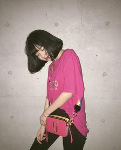 Soft Grunge, Grunge Style, Korean Street Fashion, Korea Fashion, Asian Fashion, Girl Fashion, Ulzzang Fashion, Ulzzang Girl, Cute Hairstyles For Short Hair