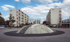 0598 http://sandman-kk.tumblr.com/post/161057943019 #Tokyo #Japan #street #playground #buildings #landscape #clouds #buildings #suburban #residential #streetphotography #instacool #photographers
