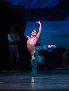 Ivan Vasiliev as the slave, Ali, in Le Corsaire.
